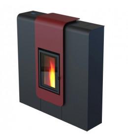 termor boegrad peć na pelet peći xila air 9 crvena boja peći od debelih limova komora od čeličnog lima