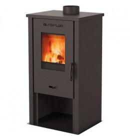 termor beograd alfa plam peć na čvrsto gorivo tara crna boja staklena vrata peć manjih dimenzija