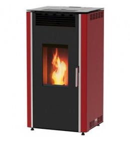 termor beograd alfa plam peć luca 12 peći na pelet a+ crvena boja 15kw loziste ložište grejanje