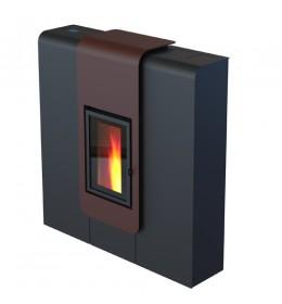 termor boegrad peć na pelet peći xila air 9 bronza boja peći od debelih limova komora od čeličnog lima