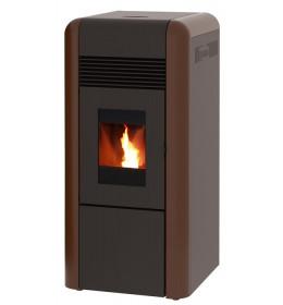 termor beograd alfa plam peć peći na pelet dino a++ 17kw bronza boja ložiste loziste grejanje peći