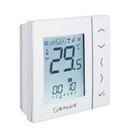 Salus VS20WRF digitalni programski bežični sobni termostat (baterijski napajan) beli