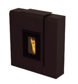 termor beograd alfa plam peć na pelet cfh xila xl idro crna boja peći  debeli limovi sa čeličnim vratima