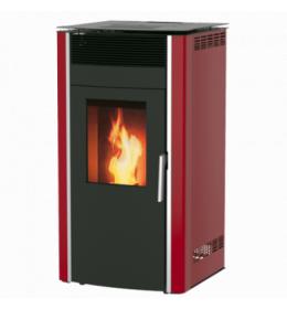 termor beograd alfa plam peć luca s8 peći na pelet commo a+ crvena boja 15kw loziste ložište grejanje